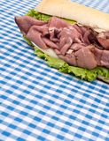 Roast Beef Sandwich Royalty Free Stock Photo
