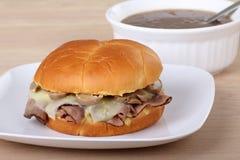 Roast Beef Sandwich Royalty Free Stock Photo