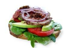 Roast Beef Sandwich royalty free stock photos