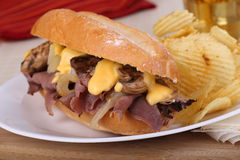 Roast Beef Sandwich Stock Images