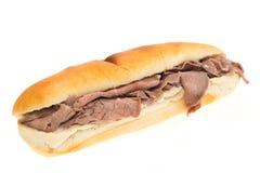 Roast beef sandwich Stock Photography