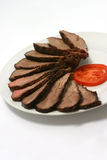 Roast beef and tomato Stock Photo