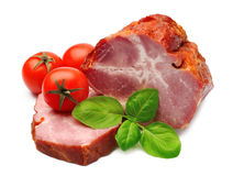 Roast beef with vegetables Royalty Free Stock Photography