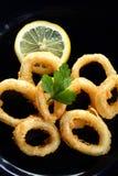 Roast calamary Royalty Free Stock Photos