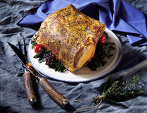 Roast & Carving Set Stock Image