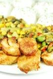 Roast chicken Stock Photos