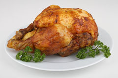 Roast chicken Royalty Free Stock Photos