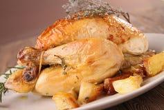 Roast chicken Royalty Free Stock Image