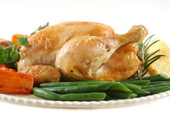 Roast Chicken Stock Image