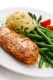 Roast chicken breast Stock Photography