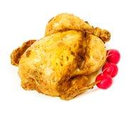 Roast chicken close-up Stock Photo