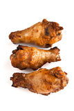 Roast chicken drumstick Stock Photo