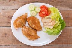 Roast chicken fillet Royalty Free Stock Photos