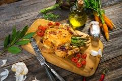 Roast Chicken Stock Image