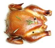 Roast chicken isolated Stock Photo