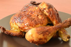 Roast chicken. Stock Photo