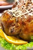 Roast chicken with orange Stock Image