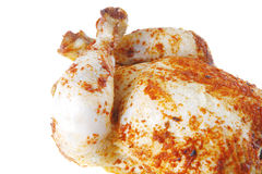 Roast chicken for take away Royalty Free Stock Images