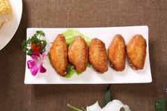 Roast chicken wings Stock Image