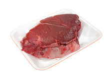 Roast Chuck On Tray Side View Royalty Free Stock Photos