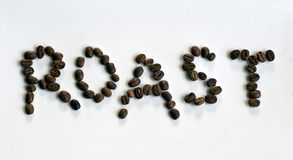 Roast coffee beans Royalty Free Stock Photography