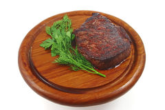 Roast cutlet Stock Photography