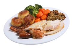 Roast Dinner Stock Image