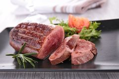 Roast duck breast Royalty Free Stock Photo