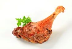 Roast duck leg Stock Images