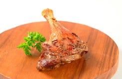 Roast duck leg Stock Image