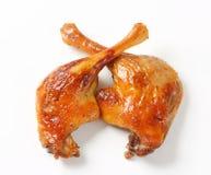 Roast duck legs Stock Images