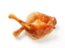 Roast duck legs Stock Photos
