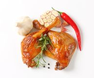 Roast duck legs Royalty Free Stock Photography