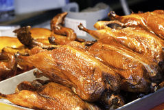 Roast ducks Stock Image