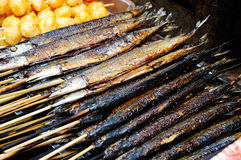 Roast fish Royalty Free Stock Image