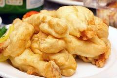 Roast fish in dough Stock Photos