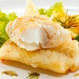 Roast fish fillet Royalty Free Stock Photo