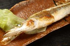 Roast fish Stock Image