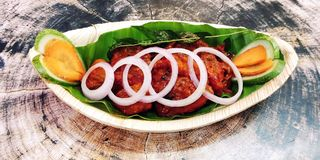 Roast - Fish Roast Tuna Kerala Foods For Food Lovers royalty free stock photos
