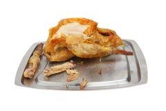 Roast Guinea fowl Stock Photo
