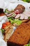 Roast and ham Stock Photos