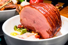 Roast ham Royalty Free Stock Photos
