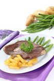 Roast lamb Royalty Free Stock Photo