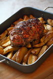 Roast of lamb Royalty Free Stock Images