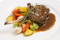 Roast lamb Royalty Free Stock Photography