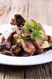 Roast lamb chops Stock Image