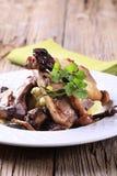 Roast lamb chops Stock Photos