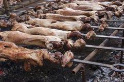 Roast lamb Royalty Free Stock Images