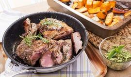 Roast Lamb Stock Photos