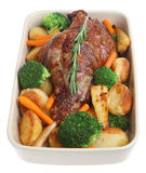 Roast Leg of Lamb Royalty Free Stock Photo